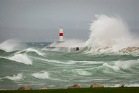 Petoskey Breakwall Storm 11/23/2012