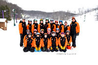Harbor Springs Middle School Ski Team 2018